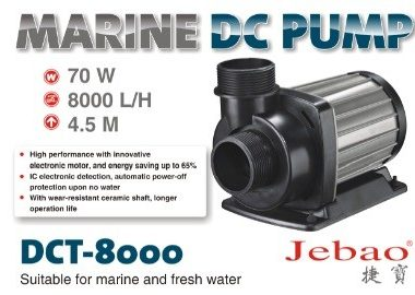 (DCT8000) Jecod DCT8000 10 Speed DC pump
