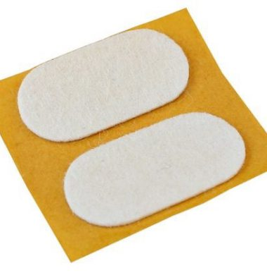 Tunze felt pads 19 x 38 mm (.8 x 1.5 in.), 2 pcs. (0220.157) for Care Magnet