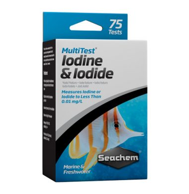 Seachem Iodine/Iodide Test Kit