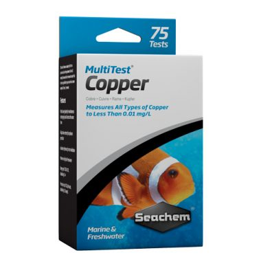 Seachem MultiTest™: Copper