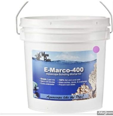 E MARCO 400 CEMENT (Pink)